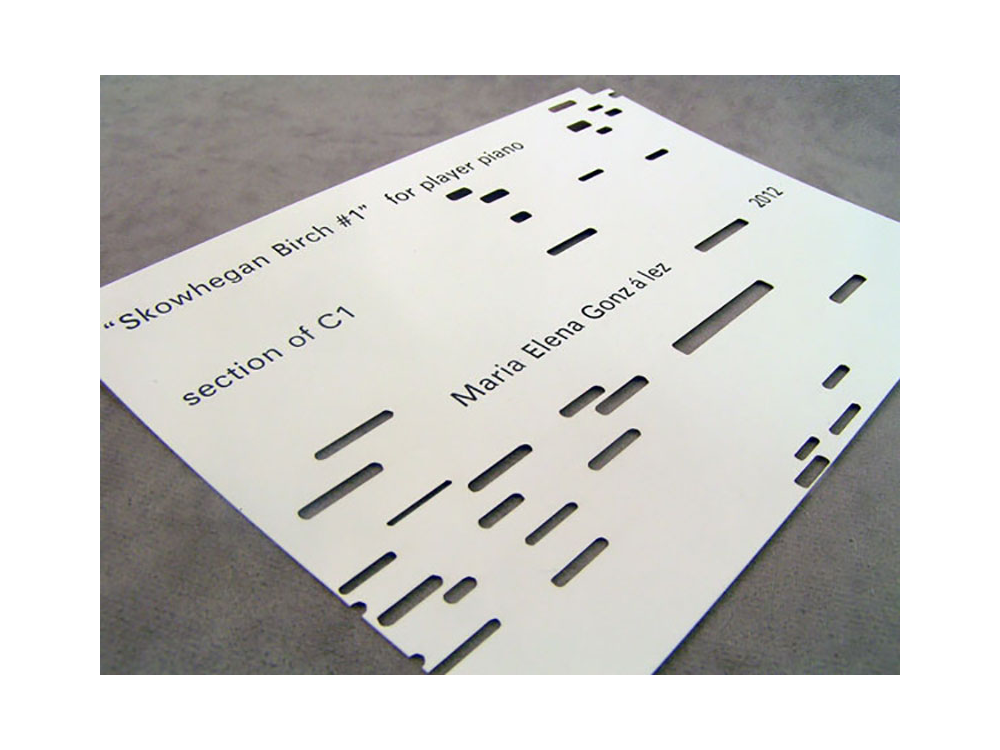 Laser Cut Paper Artist Opening Invite