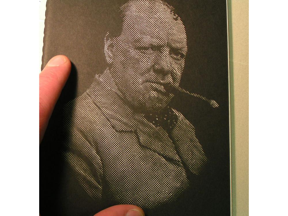 Winston Churchill Book Cover for Molskine