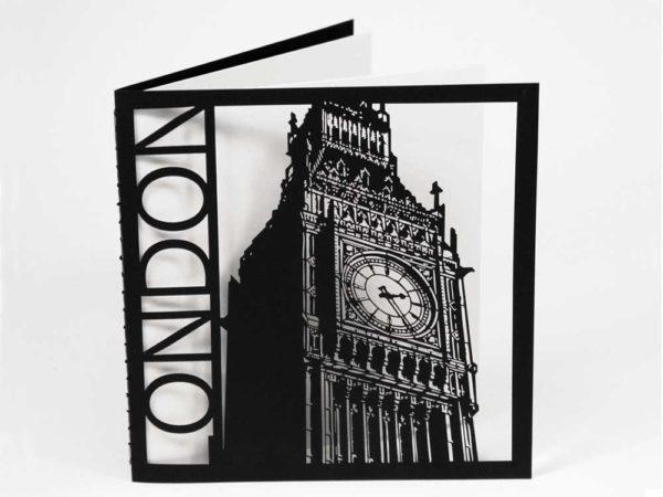 London – Big Ben - Epic Noir Notebooks