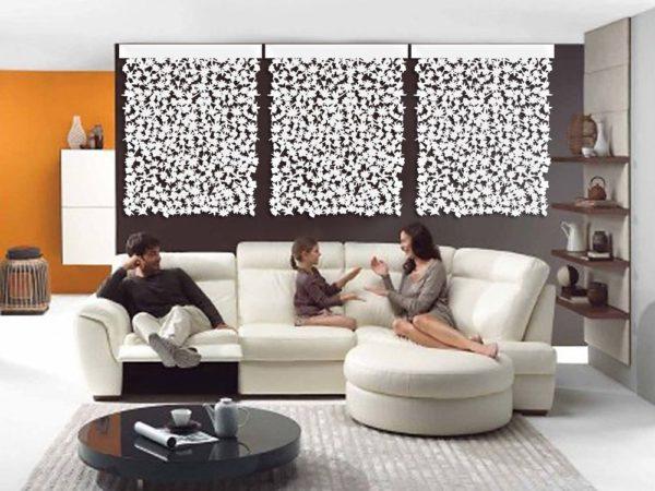 Floral Wall Design 1 - Décor