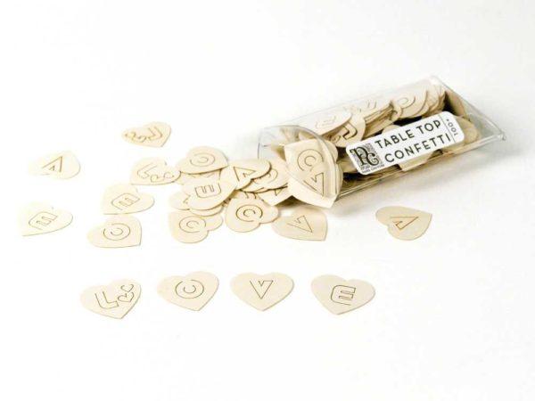 Hearts - Table Top Confetti