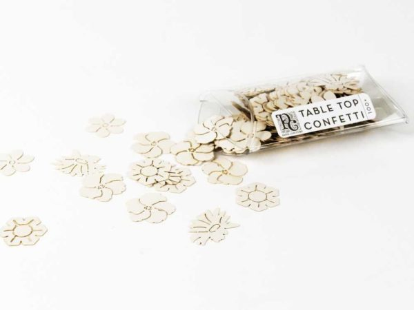 Flower - Table Top Confetti