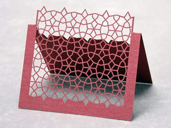 Persian Wheel (set of 10) - Place Cards