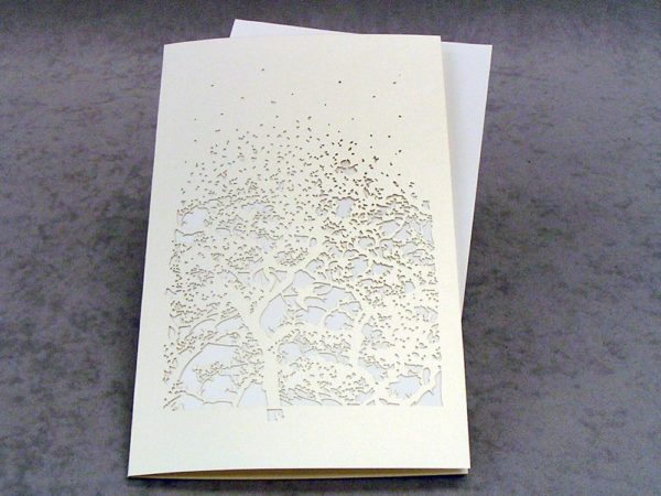 Damask - Invitation Card Grande