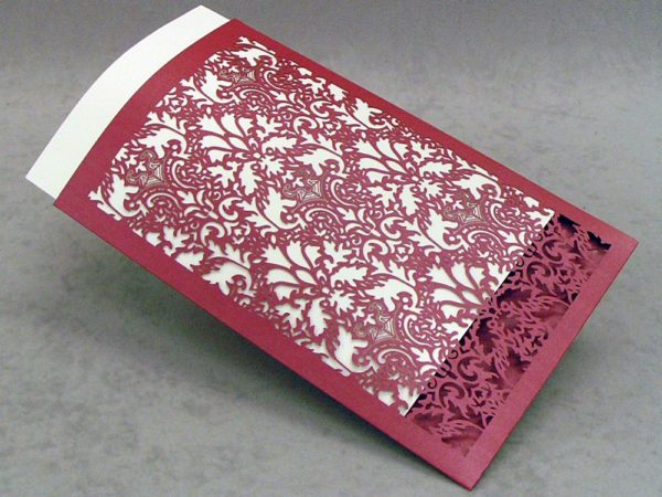 Damask - Invitation Sleeve Grande