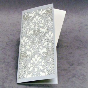Damask - Thank You - Slim Card