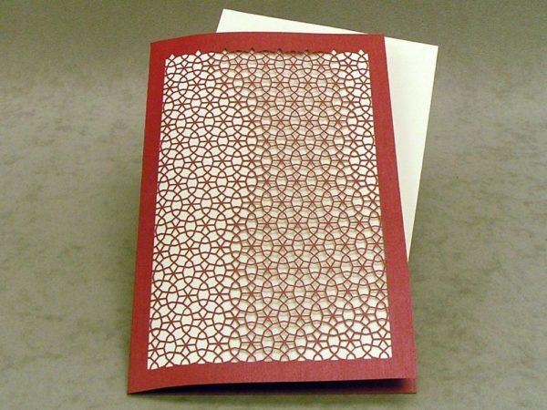Persian Wheel - Invitation Card Grande