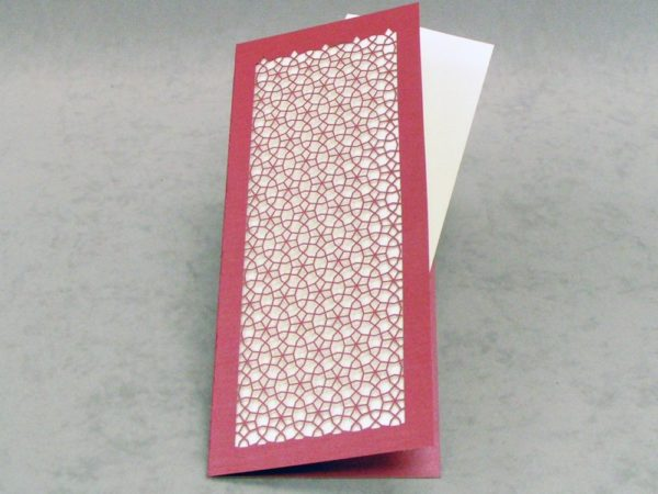 Persian Wheel - Thank You - Slim Card
