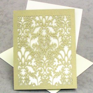 Damask - RSVP - Small Card