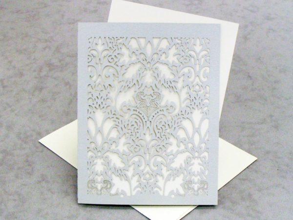 Damask - RSVP - Small Card