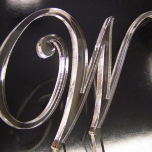 Monogram Letters - Cake Toppers