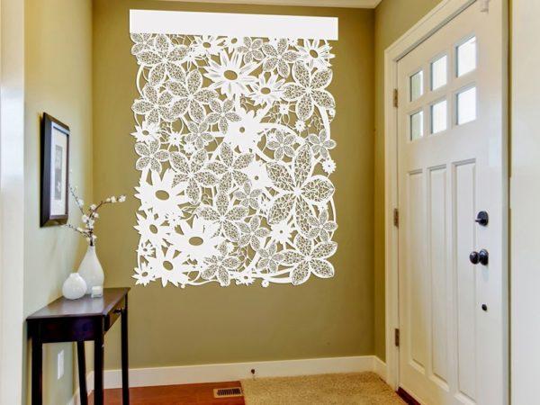 Floral Wall Design 3 - Décor