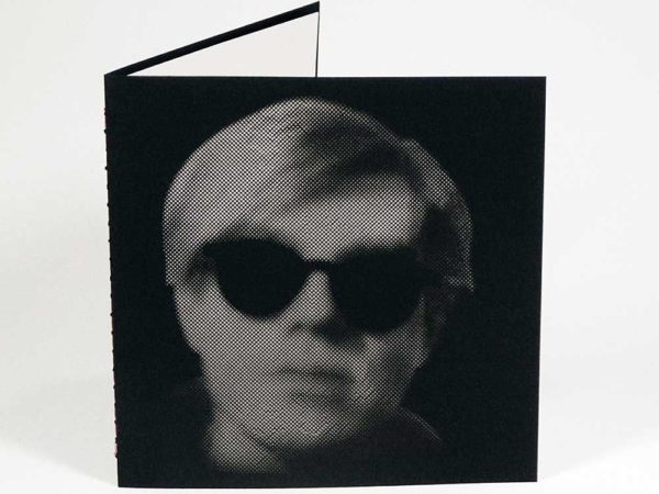 Epic Noir Notebook - William Shakespeare - Andy Warhol - Black & White