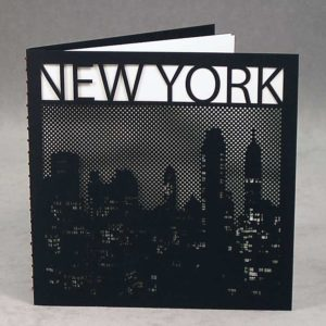 NYC Skyline at Night - Epic Noir Notebooks