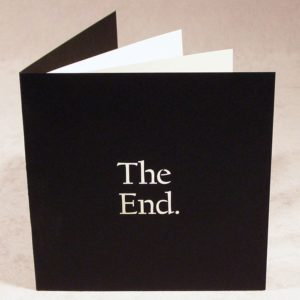 The End - Cards