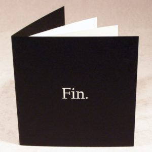 Fin. - Cards