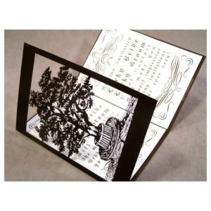 Lovers Tree Wedding Invitation Card