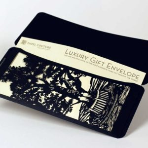 Lovers Tree - Gift Envelopes - Black