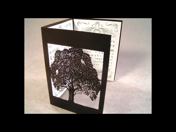 Bird Tree - Invitation/Greeting Card