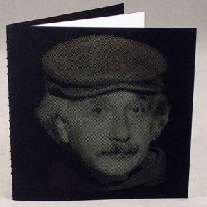Epic Noir Notebook - Albert Einstein - Black & White
