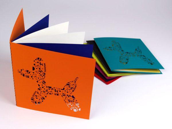 Holiday Balloon Dog Greeting Card