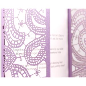 Shaadhi Henna Gatefold Card