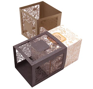 Papel Couture Paper Box Wrap for Fragrance Product