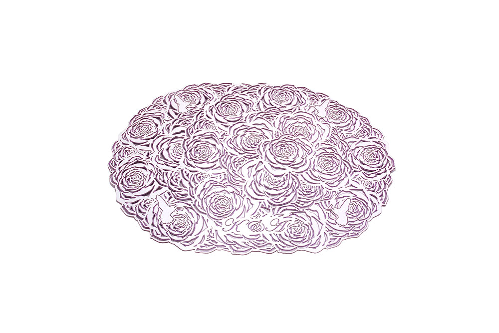 Double Layered Paper Plate Charger for Event Table Service